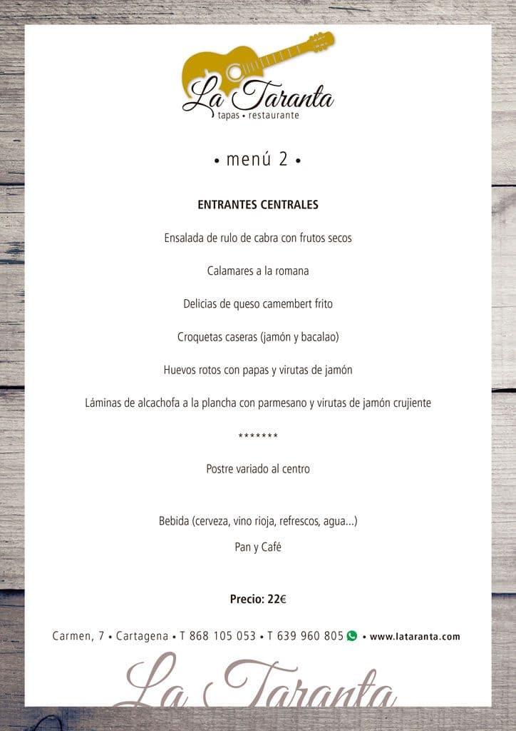 menu 2 2019