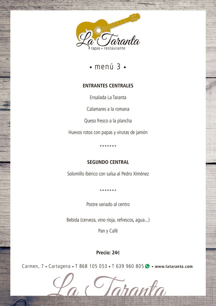 menu 3 2019